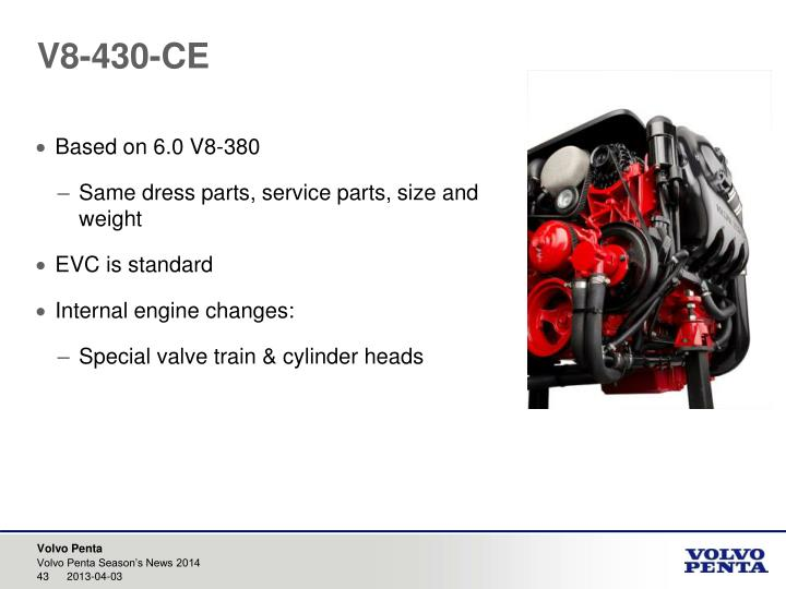 V8-430-CE
