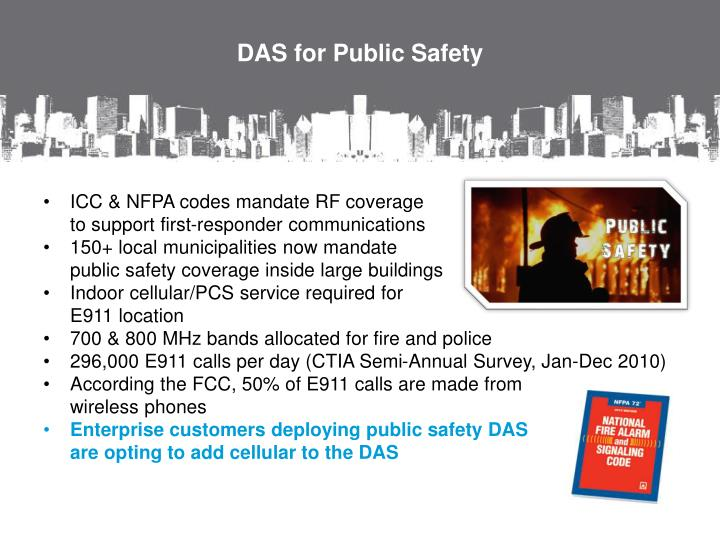 DAS for Public Safety