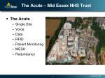 the acute mid essex nhs trust