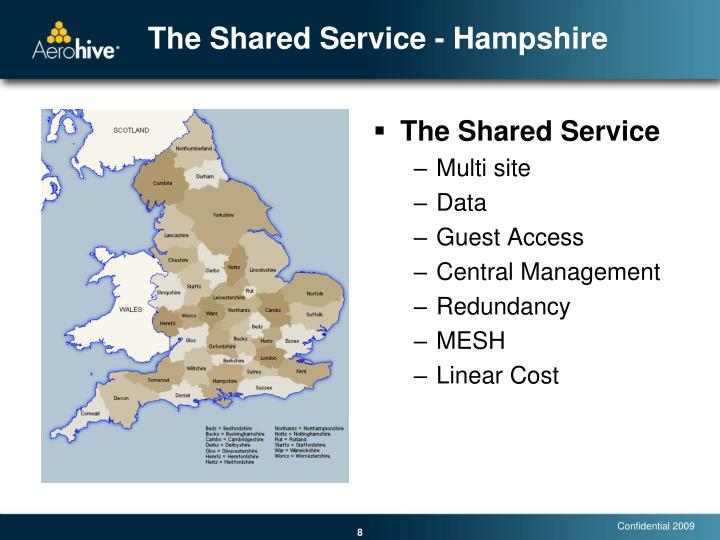 The Shared Service - Hampshire