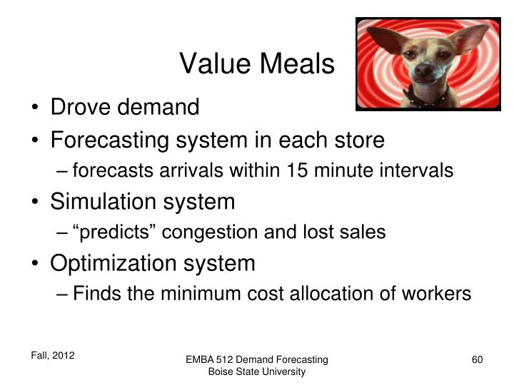 Value Meals