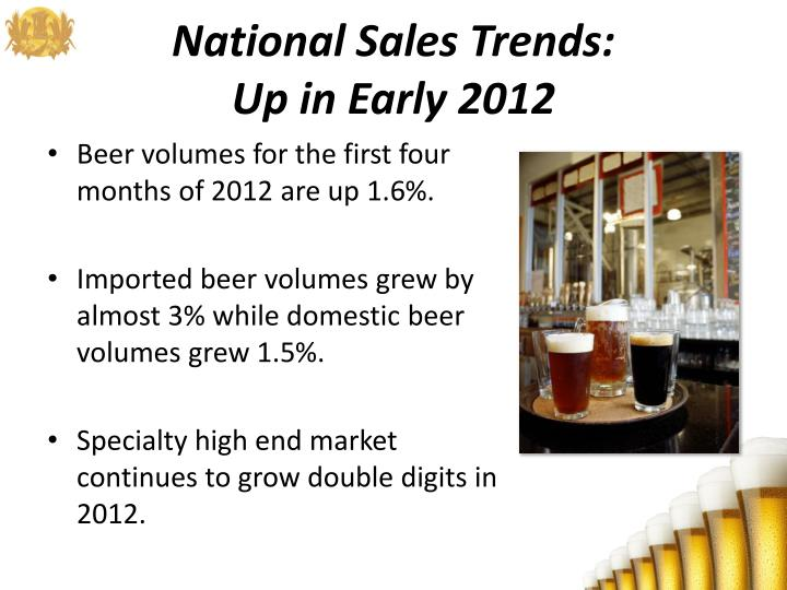 National Sales Trends: