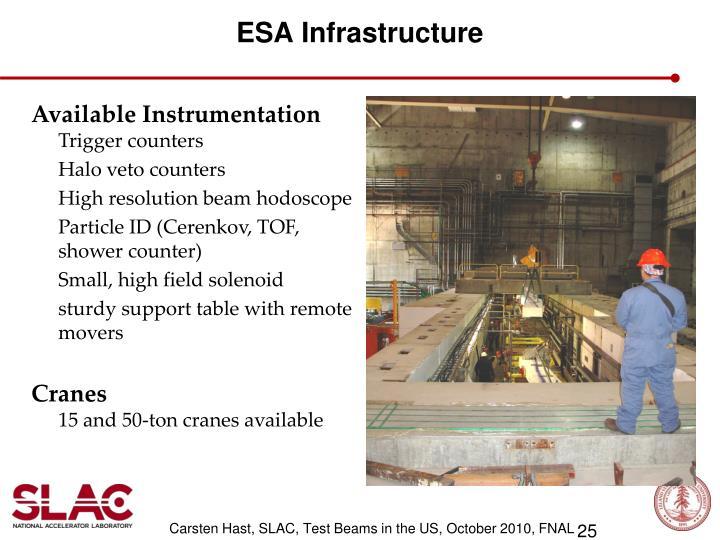ESA Infrastructure