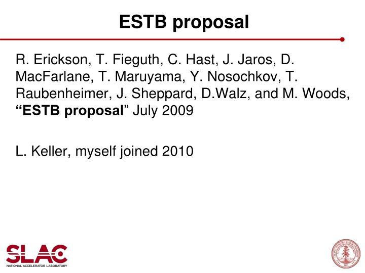 ESTB proposal