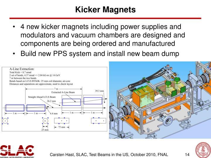 Kicker Magnets