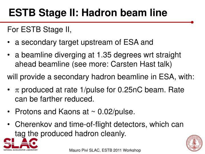 ESTB Stage II: