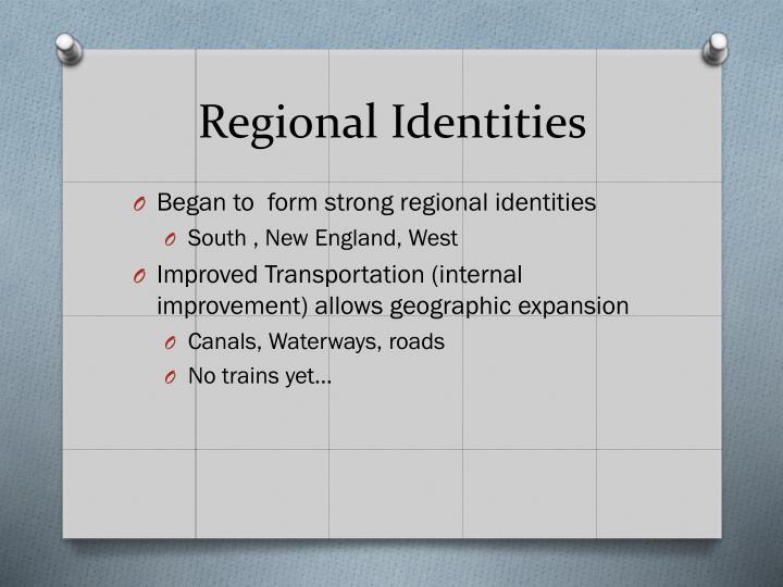 Regional Identities