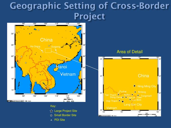Geographic Setting of Cross-Border Project