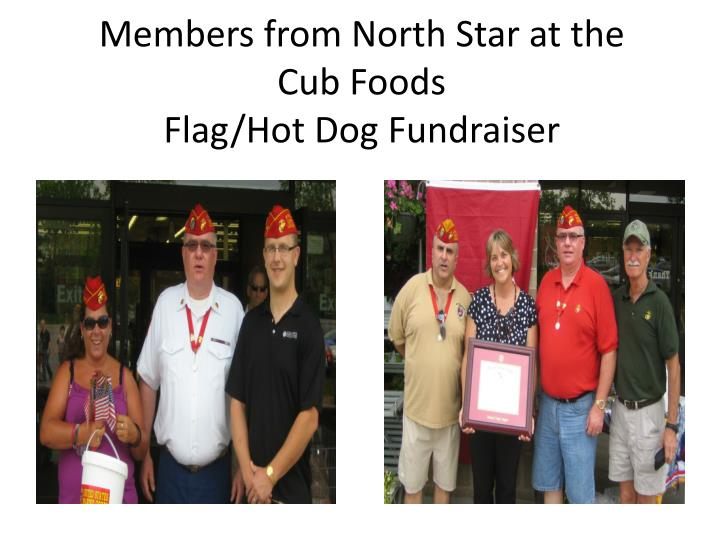 Members from North Star at the