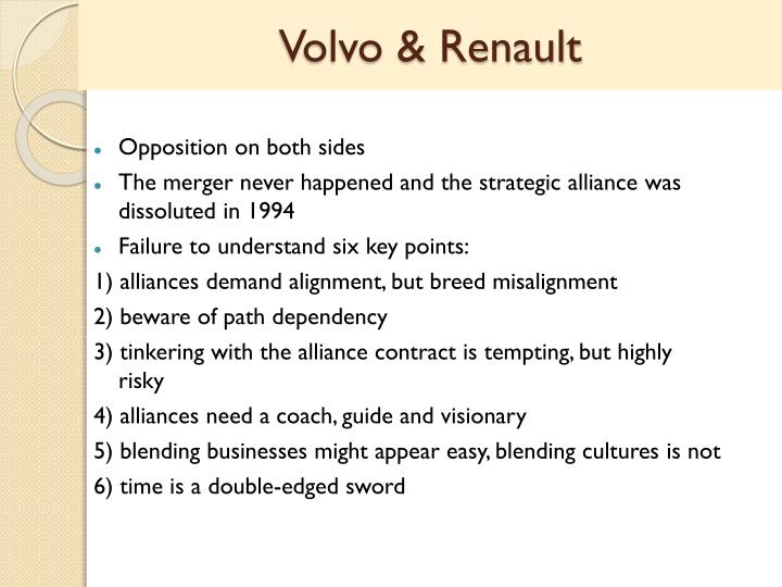 Volvo & Renault