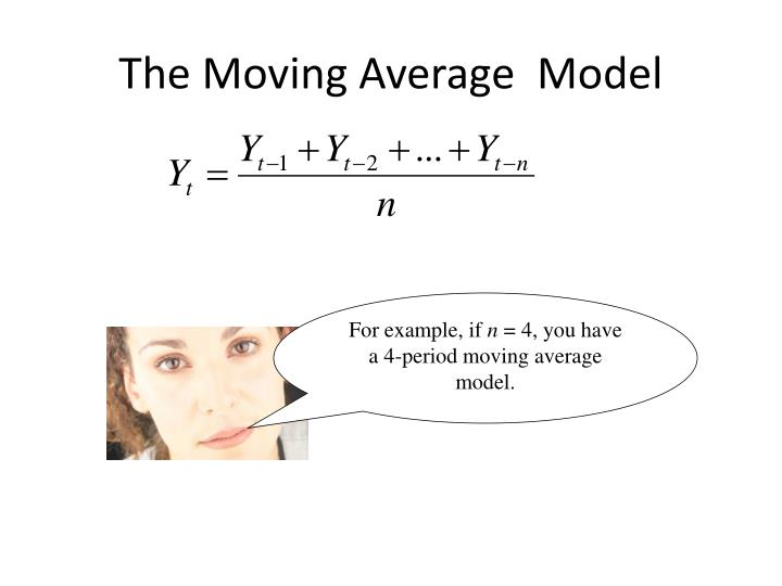 The moving average model