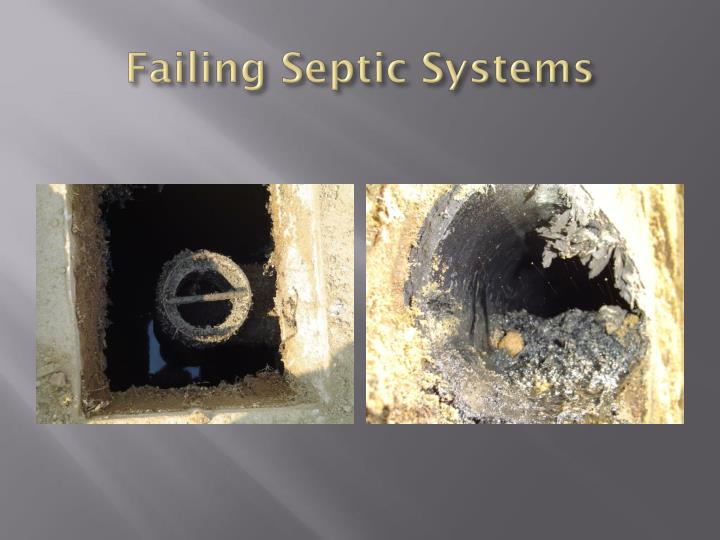 Failing Septic Systems
