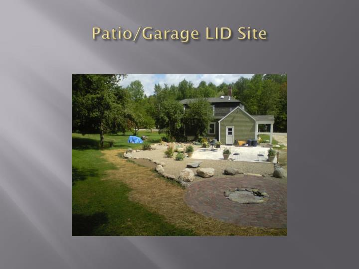 Patio/Garage LID Site