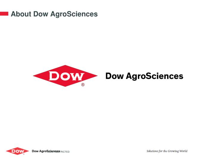 About dow agrosciences