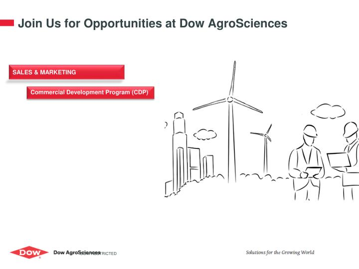 Join Us for Opportunities at Dow