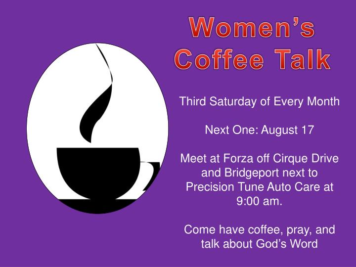 Women's Coffee Talk