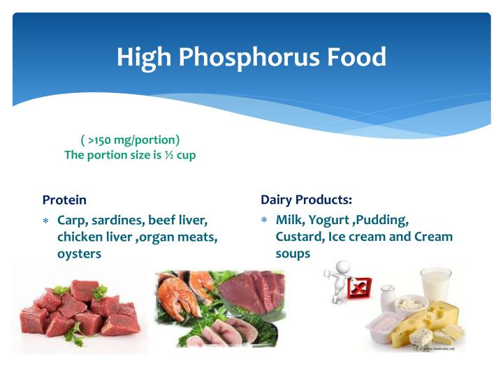 High Phosphorus