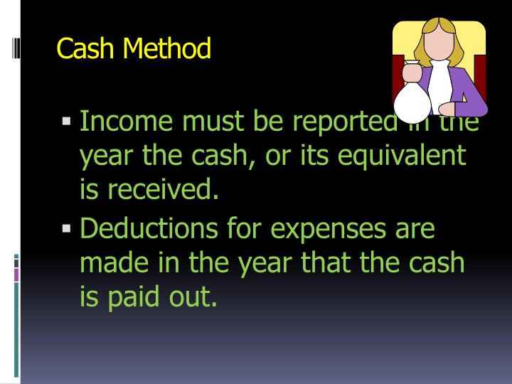Cash Method