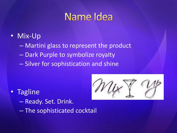 Name Idea