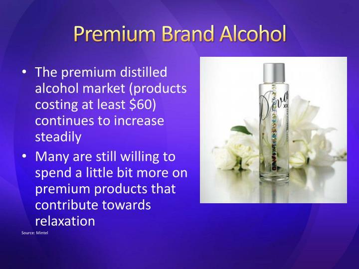 Premium Brand Alcohol