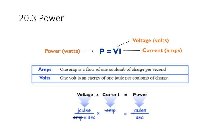20.3 Power