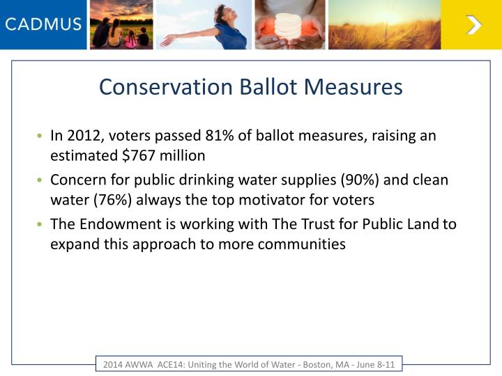 Conservation Ballot Measures