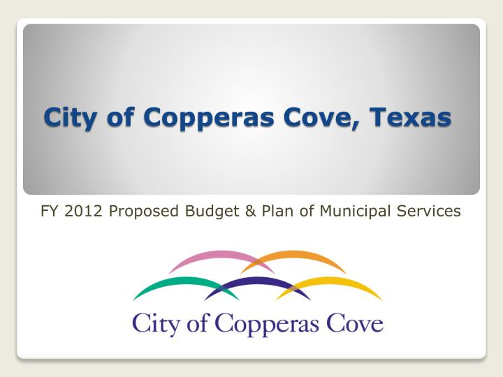 City of copperas cove texas
