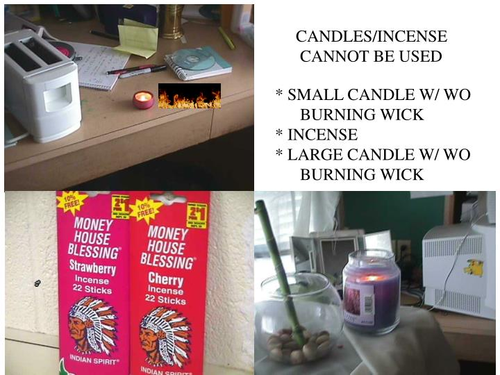 CANDLES/INCENSE