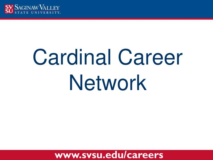 Cardinal Career Network