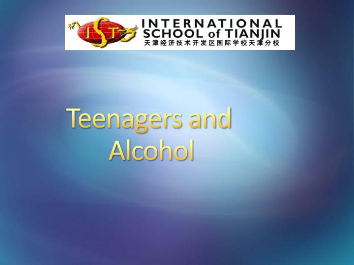 Teenagers and