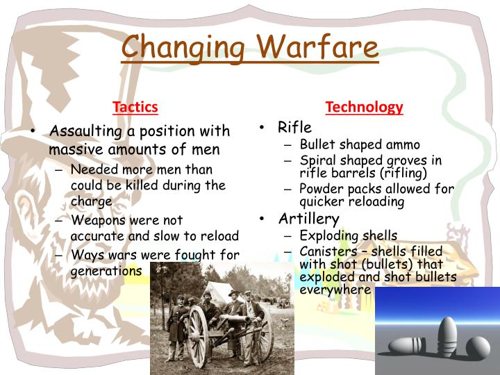 Changing Warfare