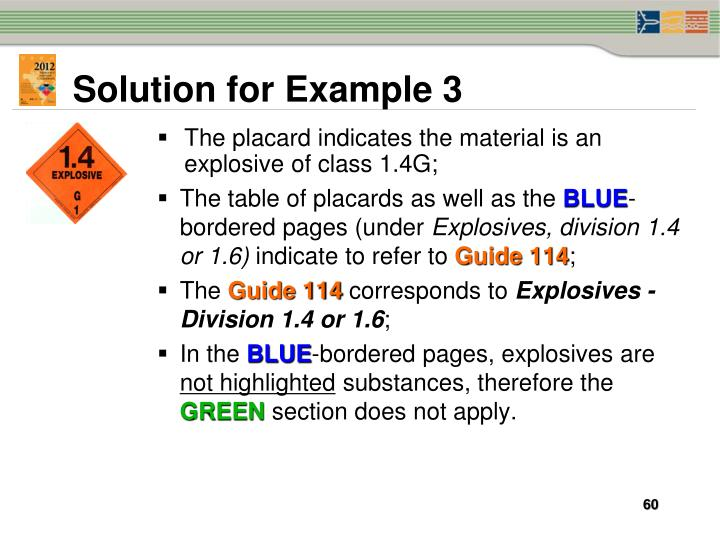 Solution for Example 3