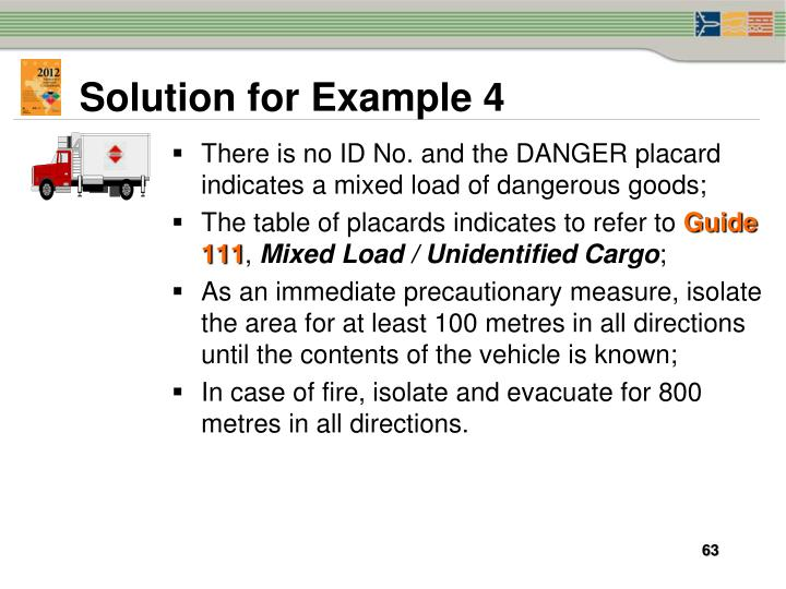 Solution for Example 4