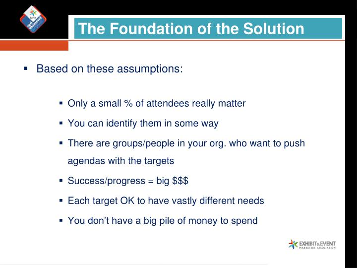 The Foundation of the Solution