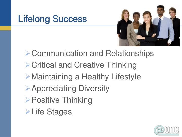 Lifelong Success