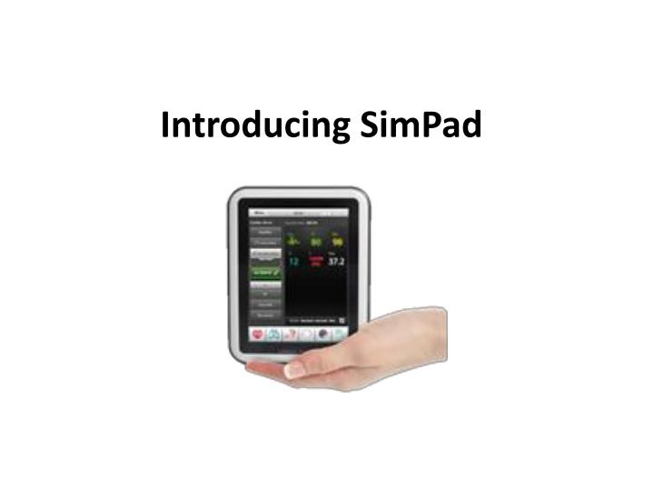 Introducing simpad