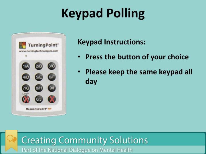 Keypad Polling