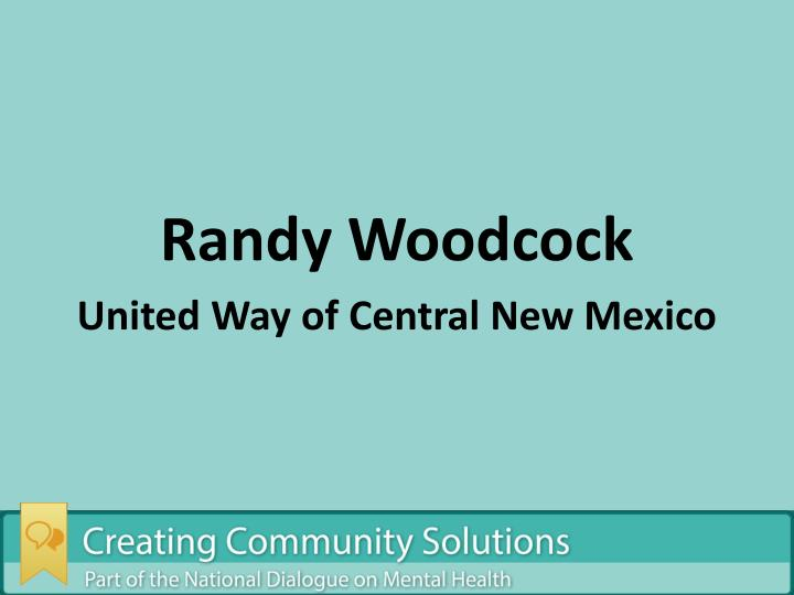 Randy Woodcock