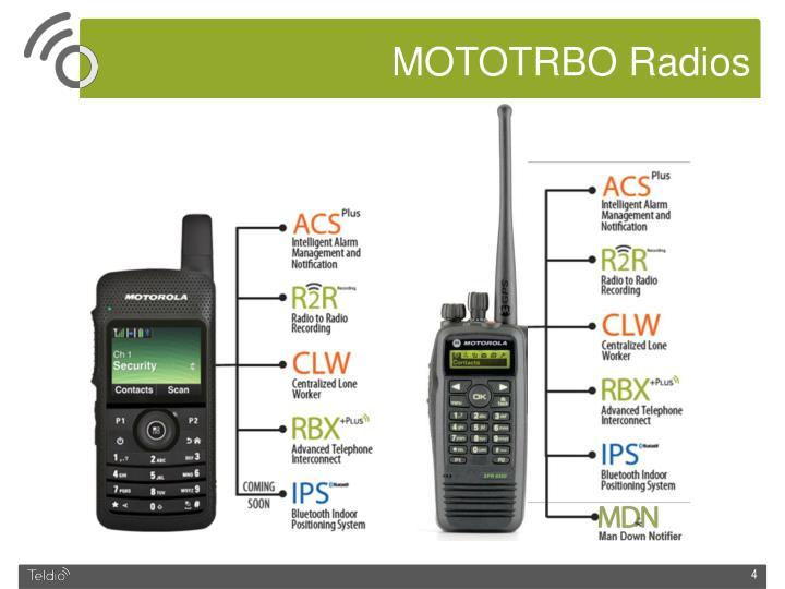 MOTOTRBO Radios