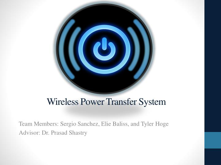 research papers on wireless electricity transmission Wireless electricity it's here by nick glass and matthew ponsford, cnn updated 12:23 pm et they were certainly dreaming of wireless power.