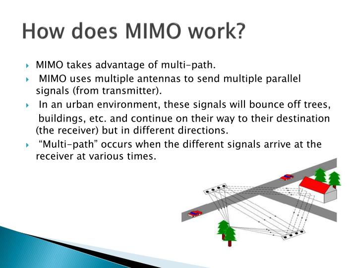 How does MIMO work?