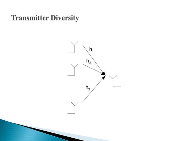 Transmitter Diversity