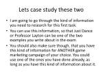 lets case study these two