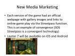 new media marketing