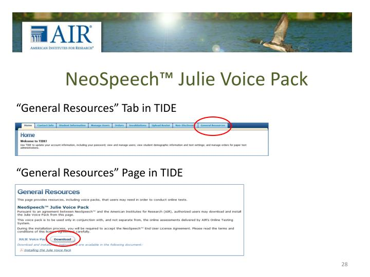 NeoSpeech™ Julie Voice Pack