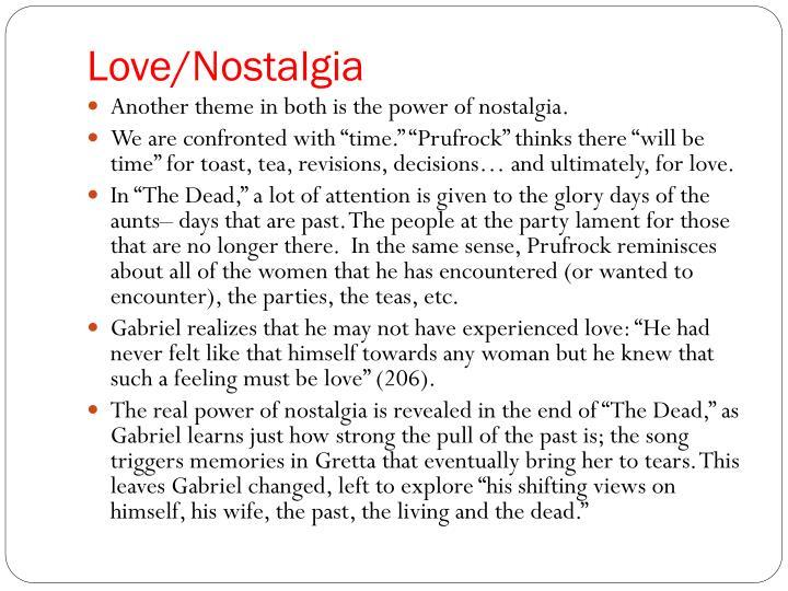 Love/Nostalgia