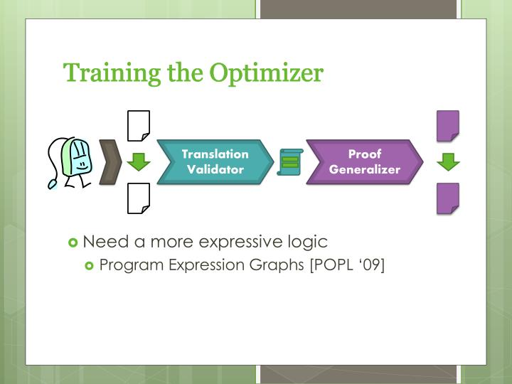 Training the Optimizer