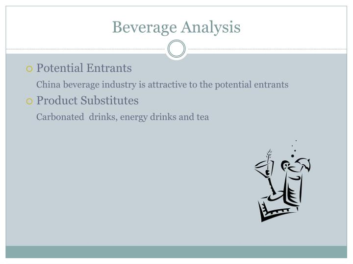 Beverage Analysis