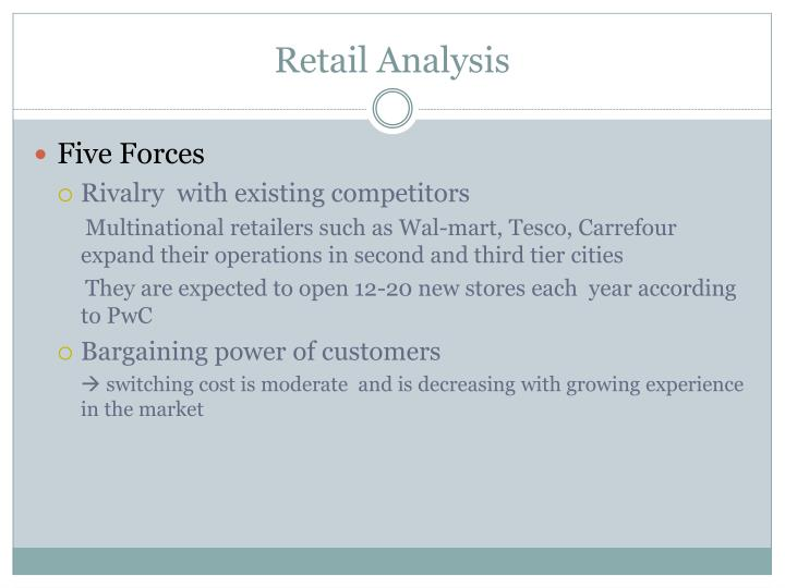 Retail Analysis