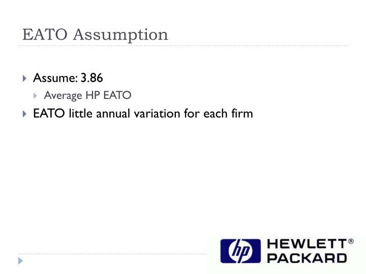EATO Assumption